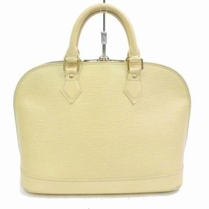 Louis Vuitton Cream Epi Alma PM 870521